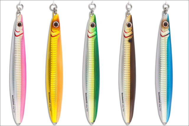 ButterFly Jigs – Shimano ButterFly Flat-Side Jig Color Profiles - Big Game Fishing Jigs